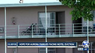 Aurora motel residents facing eviction get help - Video