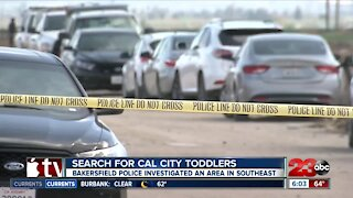 Bakersfield Police Department search connected to missing California City boys investigation