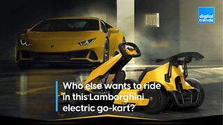 The Lamborghini Electric Go-Kart