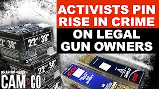 Anti-Gun Activists Try To Pin Rise In Crime On Legal Gun Owners