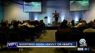 Local reaction to recent mass shootings