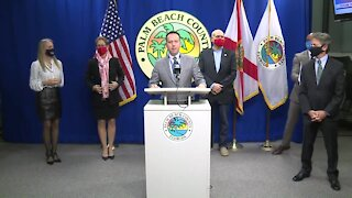 Palm Beach County leaders provide coronavirus update