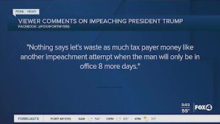 Viewers respond to President Trump Impeachment