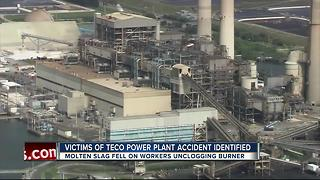 Victims of TECO Power Plant accident identified - Video