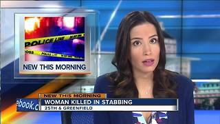 Woman stabbed to death - Video