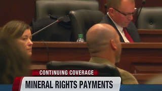 Mineral rights compensation administrative hearing in Boise today for some Payette County residents - Video