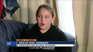 Lake Geneva Girl Marching For A Cause - Video