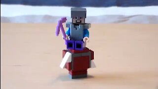 Lego Minecraft Strider Tutorial