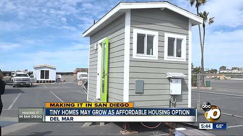 Tiny homes may grow as affordable housing option