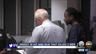 Jaherald Saint Dic : Suspect arrested in Greenacres fatal hit-and-run crash - Video