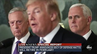 ABC News Special Report: President Trump announces Secretary of Defense Jim Mattis will retire