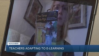 Teachers adjust to e-learning during COVID-19 crisis