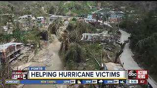 Tampa charity launched to aid P.R. after Hurricane Maria - Video