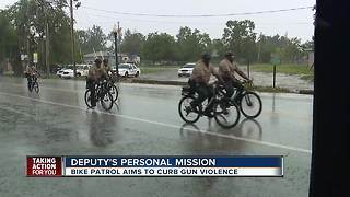 New bike patrols tackle gun violence in Highlands Co. - Video
