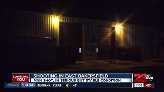 Man shot in East Bakersfield early Sunday morning