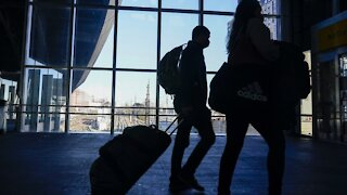 Millions Travel For Holiday Despite Surge In Virus Cases