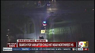 Police looking for driver who hit 10-year-old near Northwest High School