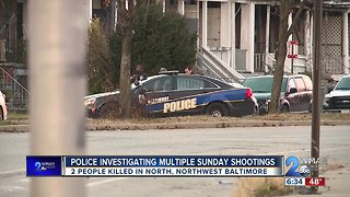 Police Investigate Multiple Sunday Shootings - Video