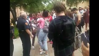 Students Arrested During Heated Exchange at Texas State University Protest