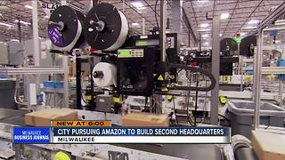 Business Journal: Milwaukee will pursue $5 billion Amazon.com headquarters - Video