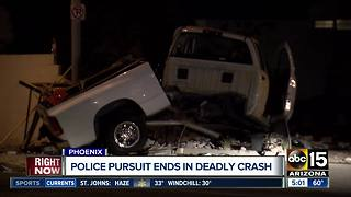 PD: Man killed in crash after running red light in Phoenix - Video