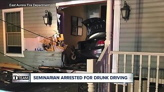Buffalo Diocese seminarian arrested for drunk driving after crashing into house