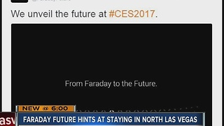 Faraday Future hints at CES event - Video