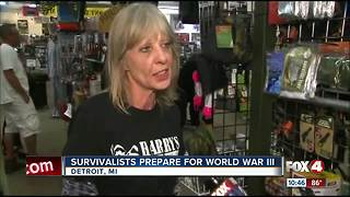 Survivalists prepare for World War III - Video