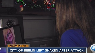 Attack in Berlin hits close to home - Video