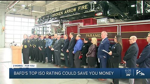 BAFD's Top ISO Rating Could Save You Money