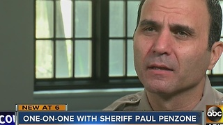 What plans does Sheriff Penzone have for Maricopa County?