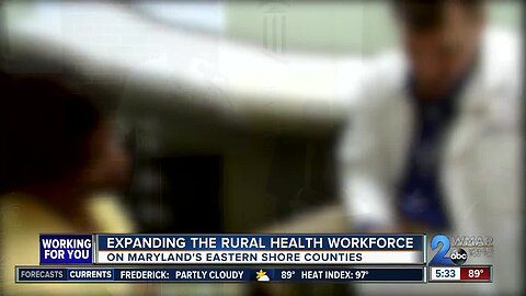 Expanding the rural health workforce