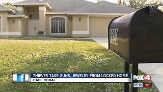 Brazen burglars target Cape home, steal $10k worth of stuff - Video