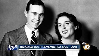 Barbara Bush remembered 1925 - 2018