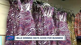 Bills' win is good for business - Video