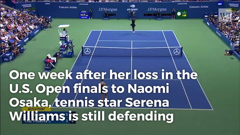Serena Williams Breaks Silence After US Open Controversy, Refuses To Give an Inch