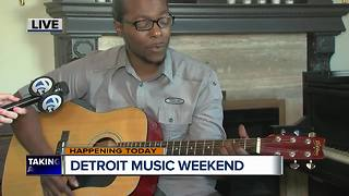 Kendrick Hardaway to perform at Detroit Music Weekend - Video