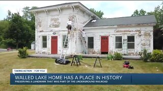 Working together to restore history in Walled Lake