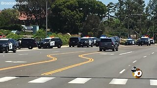 Audio: CHP takes suspected Poway synagogue shooter into custody