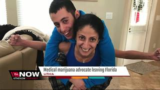 Medical marijuana advocate leaving Florida - Video