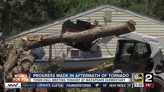 Town Hall meeting Wednesday to help cleanup effort after Kent Island tornado - Video