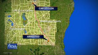 Milwaukee teen steals car, leads officers on high-speed chase through two counties - Video