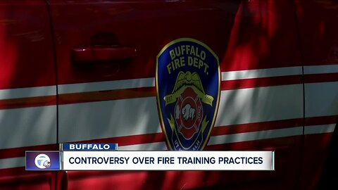 Controversy over firefighter training on West Ferry Street