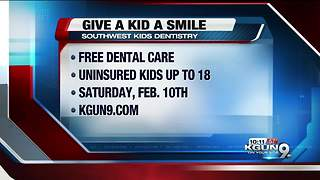 Free dental care for Tucson kids - Video