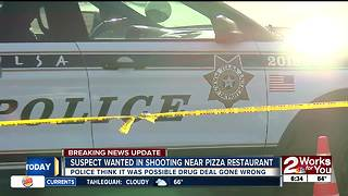 Suspect wanted after shooting outside children's pizza restaurant