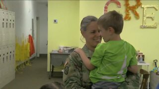 Greendale family reunites after mom's 10-month army deployment