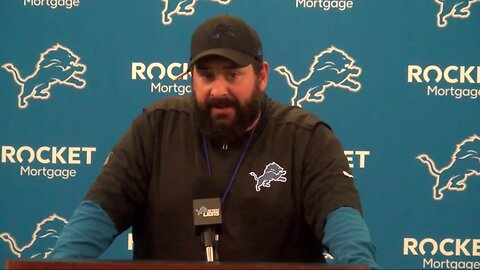 Matt Patricia knows the Lions defense needs to be far better