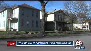 Tenants may be evicted for using, selling drugs - Video
