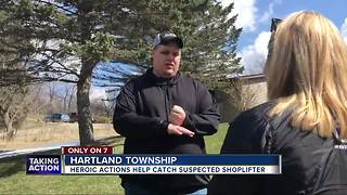 Good Samaritan helps stop shoplifter and gets stabbed in process
