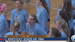 PBA Volleyball Tops Kentucky State - Video